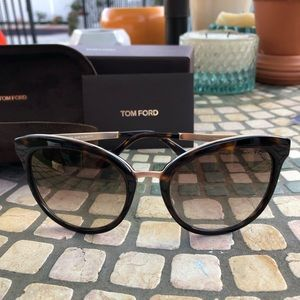 fe1c154b3ab26 Tom Ford Accessories - Tom Ford Emma 52G Tortoise Gold Emma Cats Eyes